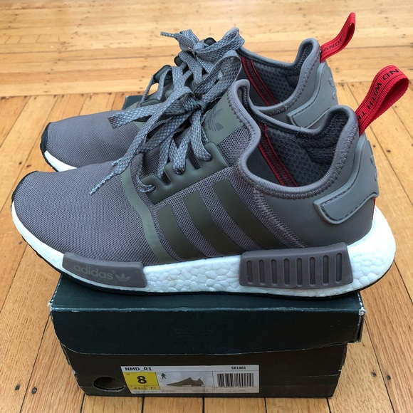 70558ce76035a adidas Other - Adidas NMD R1 - Olive Brown Red - Size 8 (men s)